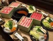 【温野菜】しゃぶしゃぶ食べ放題です♪(お出しは2種類からチョイス可)