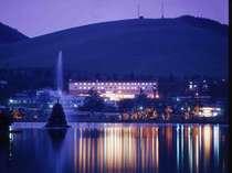 黄昏のホテル
