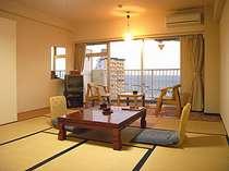 【和室一例】海を眺められるお部屋でおくつろぎ下さい