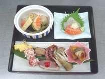 【日替わりランチ】海の幸を中心とした昼食になります(料理写真はイメージです)