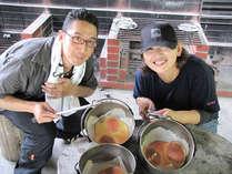 ぼうしパン作り体験★自分で竹炭を使って作るぼうしパンは美味しいねっ♪