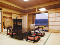 特別室和洋室【和室】(全客室40インチ液晶テレビ・加湿空気清浄機導入)しました。