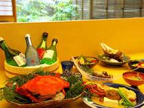 ご夕食は土佐の旬の食材を使った「おまかせ会席」をご用意させて頂きます!