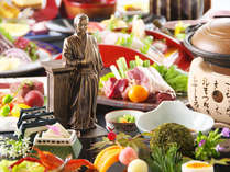 【コリッコリの軍鶏鍋付】龍馬さん33年の生涯をストーリー仕立てに料理で表現≪龍馬物語 軌跡の会席≫