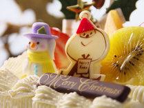 【専属パティシエ特製】クリスマスケーキ付♪旅館でまったり過ごす和風X'mas(*^^*)