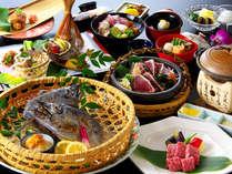 カツオ祭りだ!ワッショイ♪土佐の恵みを一夜で食べつくす『カツオ満腹会席』