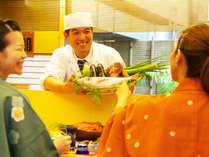 高知の珍しい食材に出会えるかも?!その日入った地元の食材で料理長が献立!料理人との会話も弾みます♪