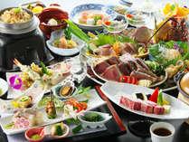 皿鉢料理と土佐風会席【6~8月の内容となります】