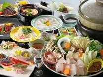 【クエ鍋グルメ会席】幻の高級魚を食す!まさにクエづくし!コラーゲンたっぷりのグルメ会席