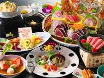 皿鉢料理と土佐風会席【12~3月の内容となります】