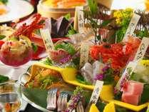 【土佐銘魚7種盛り合わせ皿鉢】料理長が地元の漁師さんと直接やり取りをして仕入れる厳選されたお魚を堪能