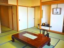 (禁煙)【千寿】和室8畳<40平米>広縁のない和室のお部屋タイプとなります。