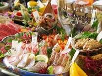 【土佐銘魚7種盛り合わせ皿鉢】料理長厳選!地元漁師さんから直接仕入れた夏ならではの魚をたっぷり堪能♪