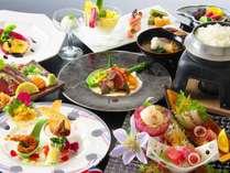 【料亭でいただく和洋会席コース】~和の松本料理長と洋の斎藤料理長の夏のコラボ会席~