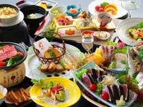 皿鉢料理と土佐風会席【9~11月の内容となります】
