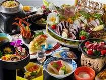 皿鉢料理と土佐風会席【12~2月の内容となります】