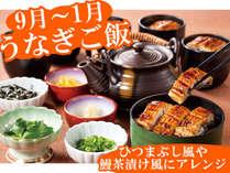 【期間限定】うなぎご飯(2018/9/1-2019/1/31)ひつまぶし風や鰻茶漬けにアレンジして楽しめます!