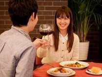 【ご夕食】ご宿泊のお客様にはワンドリンクサービス中♪