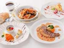 【ご夕食】カジュアルディナー◆お箸でもお召し上がりいただけるコース料理です!
