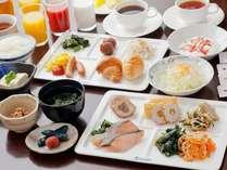【ご朝食】バイキング◆お好きなものをお好きなだけお召し上がりくださいませ♪