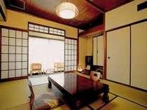 湯けむりを望める客室(画像一例)