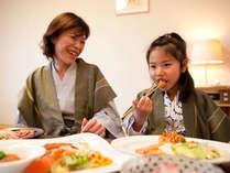 【お子様メニュー】お子様にも食べやすい料理を(画像一例)