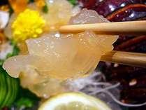 プリプリとした食感の伊勢海老のお造り(イメージ画像)