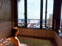 特別室内風呂より鉄輪の湯けむりを満喫♪(イメージ画像)