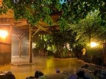 月明かりの露天風呂「鬼山の湯」(イメージ画像)