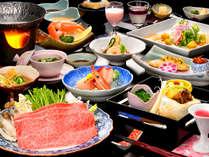 【黒毛和牛のしゃぶしゃぶ】一番人気の追加料理は、黒毛和牛のとろける食感を楽しめるしゃぶしゃぶです。
