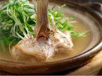 名物の鯛柚子鍋