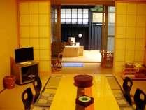 【じゃらん夏SALE】1泊2食付(月コース膳)客室小露天付(らん・はぎ)