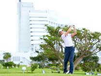 楽々ゴルフ! ゴルフ用品一式レンタル付・タワーステイ
