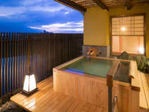 ◆特別室-英彦-◆檜の露天風呂で<美肌の湯と絶景>に酔いしれる♪大家族8人でも泊まれる客室!