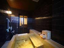 ◆準特室-日迎-半露天風呂◆2015年8月リニューアル。檜の香りにリラックス効果があります。
