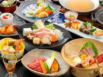 【冬の美味少量会席】量よりも質を重視♪美味しいものを少しずつ味わう六峰舘の人気のコース。,福岡県,ほどあいの宿 六峰舘