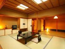 【1泊2食 夕食会場はレストラン形式】 自慢の広々2間続きの客室&ホテルスタンダード料理プラン