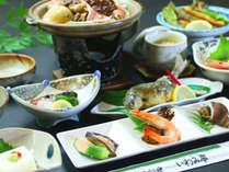 地元一押しの食材をふんだんに味わう会席をお愉しみ下さい,岐阜県,和味の宿 いわみ亭