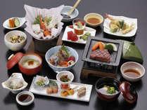 *旬の味覚「季節の会席料理」(一例)