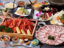 *冬の人気NO.1! 蟹90分食べ放題×松坂ポークしゃぶしゃぶを贅沢に堪能!