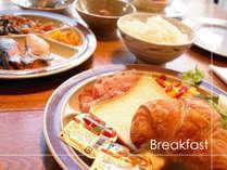 【朝食】 和・洋 約30種の朝食バイキング♪