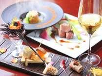 【ご夕食】イメージ※お料理に合うワイン各種ご用意しております。
