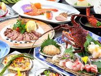"""佐世保の新鮮魚介から、名物レモンステーキまで。四季折々の滋味を盛り込んだ、料理長""""渾身""""の極み会席"""