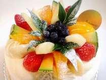 湯布院でも美味しいと評判の人気スウィーツ 「銀の彩」さんのカップル向けケーキをご用意☆