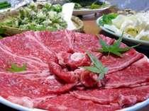 国産のすき焼プランはお肉のうま味を最大限に引き出した独特の食べ方で・特製の手作りタレで味わう贅沢感