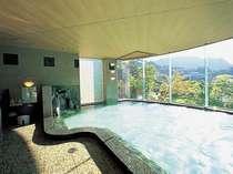 2号館男性大浴場「月の雫」、サウナ、露天風呂完備