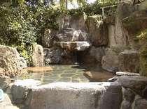 岩風呂女性大浴場内の高台にある露天風呂「仇討ちの湯」