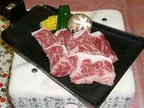 別料理【豊後牛の鍬焼き】(2名様盛り)