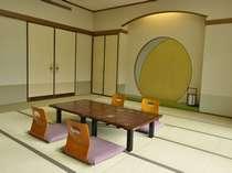 【大部屋】2号館(本館)和室21畳。最大10名様まで宿泊できます。