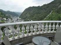 2号館7階西側客室からの眺望